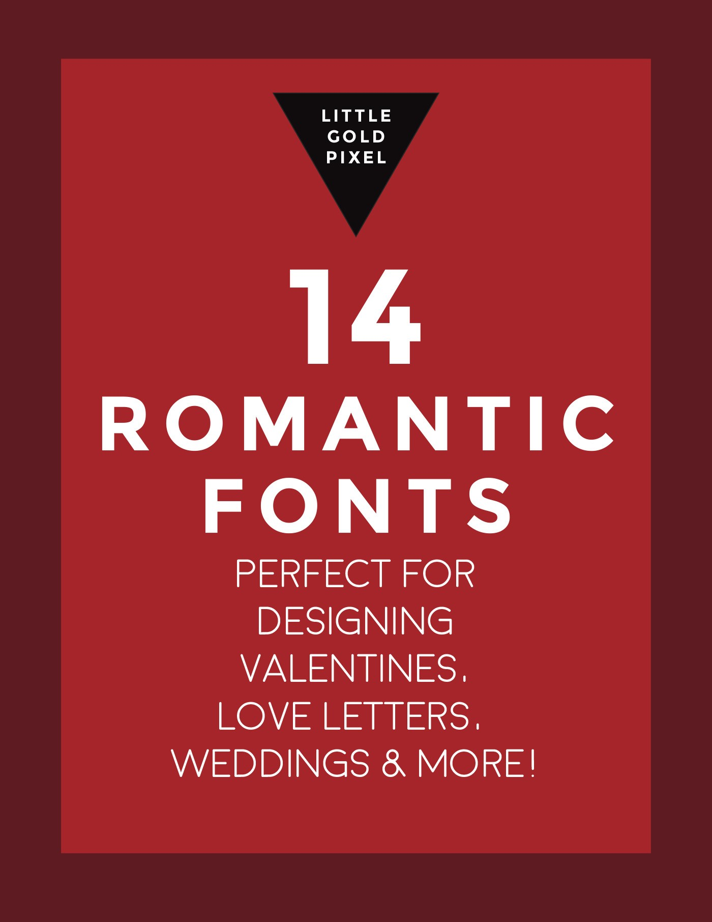 14 Romantic Script Fonts • Little Gold Pixel