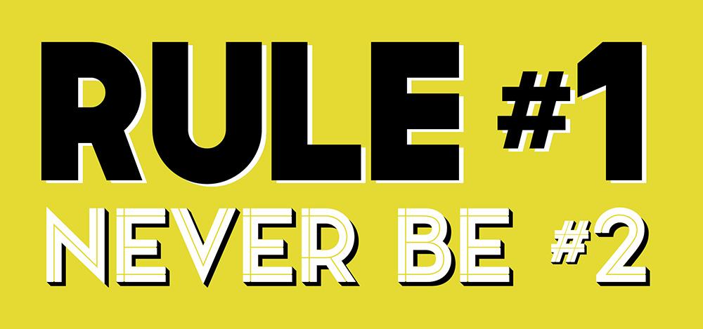 Rule 1 Motivational Free Art Printable • Little Gold Pixel