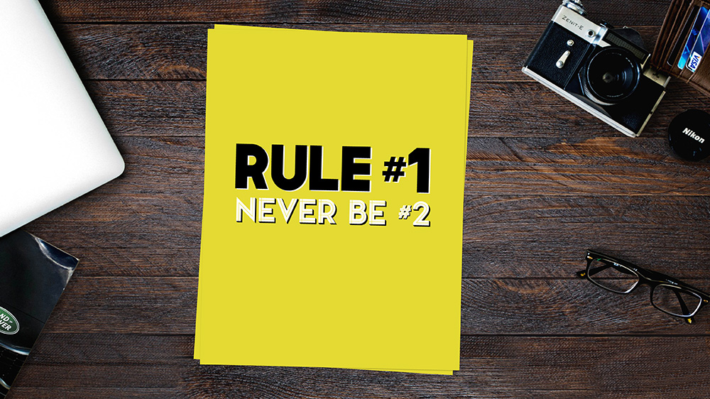 Rule #1 Motivational Free Art Printable • Little Gold Pixel
