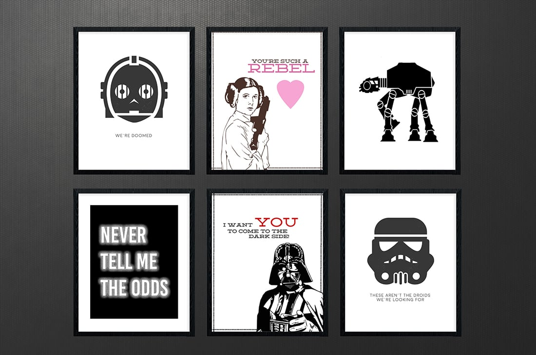 picture about Printable Star Wars Images referred to as Star Wars Free of charge Printables A Roundup Tiny Gold Pixel