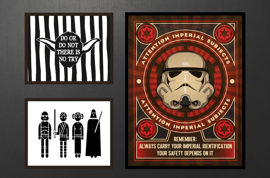 Star Wars Free Printables • Little Gold Pixel