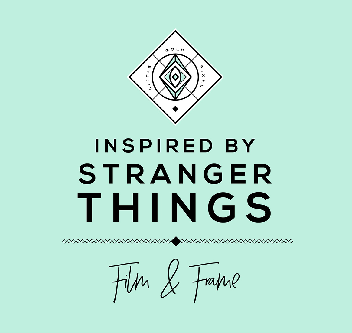 Stranger Things Free Art Printable Mornings Are for Coffee and Contemplation • Little Gold Pixel