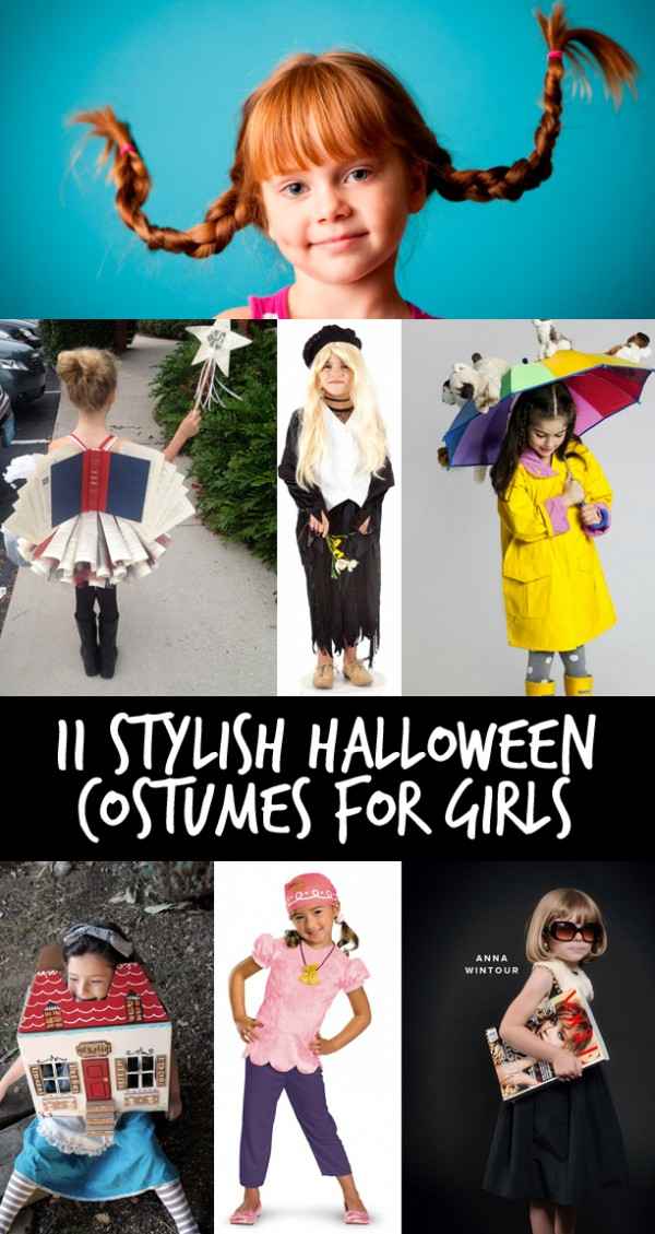 11 Stylish Halloween Costumes for Girls • Little Gold Pixel