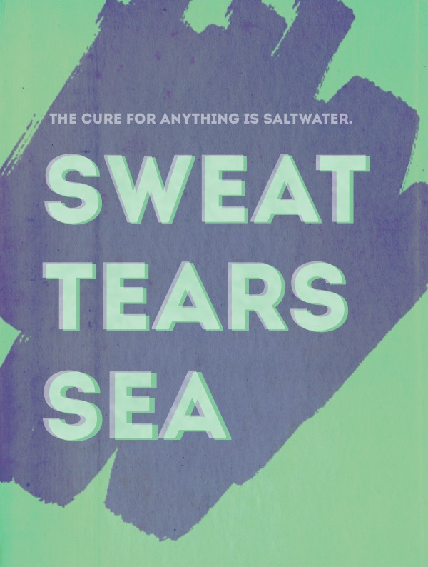 Free Sweat Tears Sea Printable • Little Gold Pixel