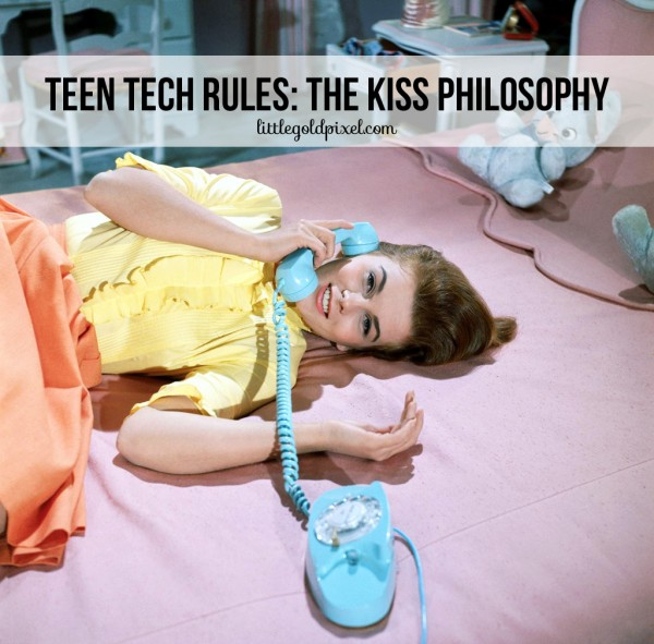 Teen Tech Rules • littlegoldpixel.com