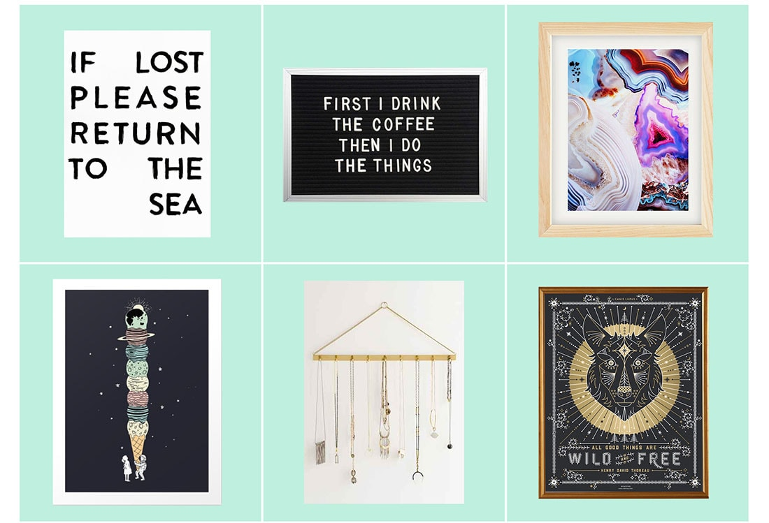Ultimate Wall Art Gift Guide Vol. 2 • Little Gold Pixel