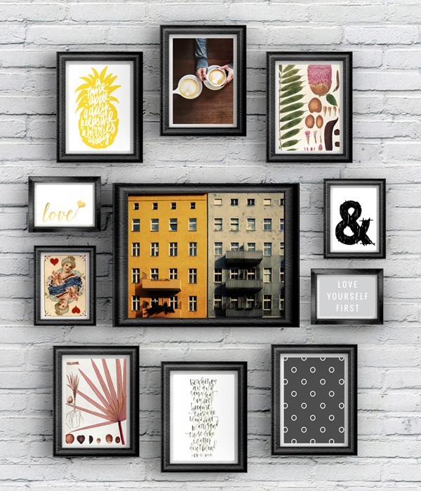 It is a picture of Gorgeous Gallery Wall Printables