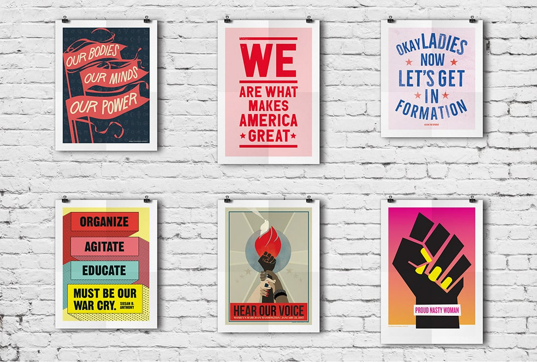 image about Printable Women's March Signs called Free of charge Womens March Posters Wherever toward Obtain Them Very little